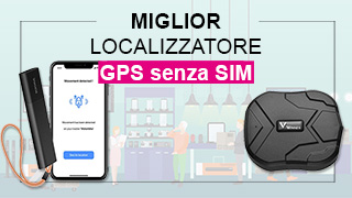 localizzatore GPS senza SIM