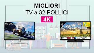 TV 32 pollici 4k